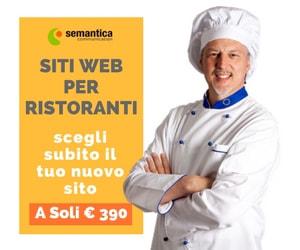 Siti internet economici ristorante