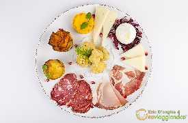 Antipasto misto Bina ristorante di Puglia Locorotondo Bari