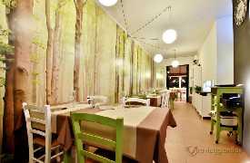 Sala da pranzo Ristorante D'Istinto Senigallia