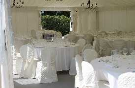 Sala per matrimonio Ristorante Andreina Loreto
