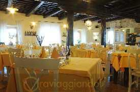 Panoramica sala da pranzo Ristorante Isola Belgatto Fano