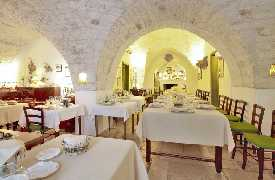 Sala da pranzo Masseria Il Frantoio Ostuni