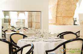 Tavolo per quattro Bina ristorante di Puglia Locorotondo Bari