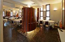 Panoramica sala da pranzo Ristorante Al Cambio Bologna
