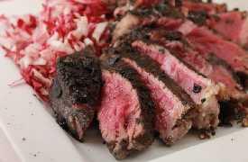 Tagliata di carne Ristorante Taverna del Ghiottone Fano