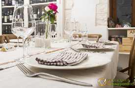 Dettaglio tavolo 3 Ristorante U Curdunn Locorotondo Bari