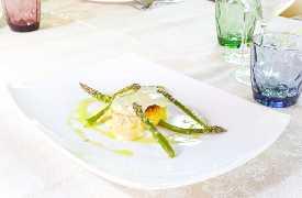 Tortino con asparagi Ristorante Valsellustra Casalfiumanese