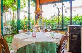 Tavolo per quattro Ristorante Valsellustra Casalfiumanese