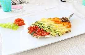 Pesce con verdure Ristorante Zi Rosa Riccione
