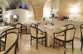 Sala da pranzo Bina ristorante di Puglia Locorotondo Bari