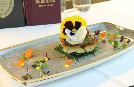 Secondo gourmet Sottosale Hostaria Italiana Arezzo