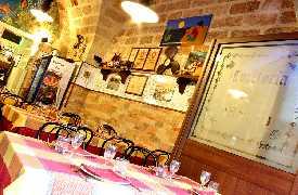 Sala rustica 2 Trattoria Dal Monaco Polignano a Mare Bari