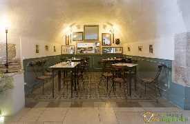 Sala interna Ristorante La Prèule Canosa di Puglia foto 2