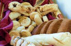 Pane con farine bio Ristorante La Coppa Mombaroccio