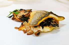 Pesce e porcini  Controcorrente Osteria di Mare Morciano di Romagna