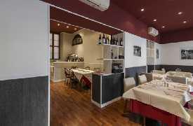 Sala da pranzo Da Marcone trattoria conviviale Milano