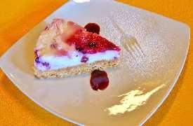 Cheesecake Ristorante La Lanterna Loreto