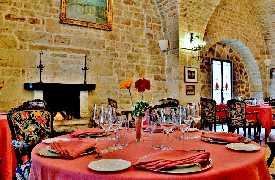 Tavolo Ristorante Il Poeta Contadino Alberobello Bari