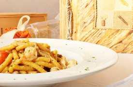 Passatelli con sugo di pesce Ristorante Taverna del Ghiottone Fano