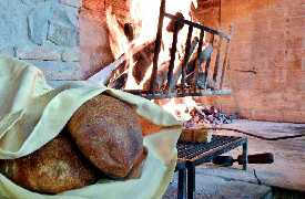 Pane caldo Ristorante Il Vesuvio Arezzo