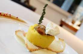 Tortino salato Ristorante Vivo San Marino