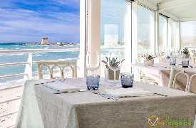 Tavolo per due Ristorante Aqua Le Dune Lecce
