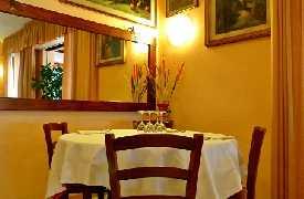 Tavolo intimo Ristorante Trattoria Al Coniglio Rimini