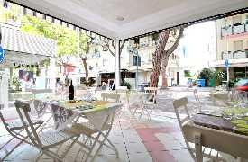 Sala da pranzo Ristorante Le Crescentine di Novella Riccione