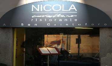 Nicola Cavallaro Ristorante Al San Cristoforo  opinioni e recensioni - Milano