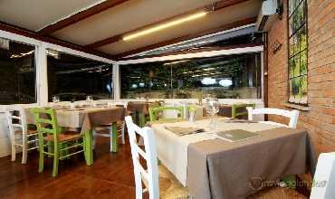 Saletta del ristorante D Istinto di Senigallia