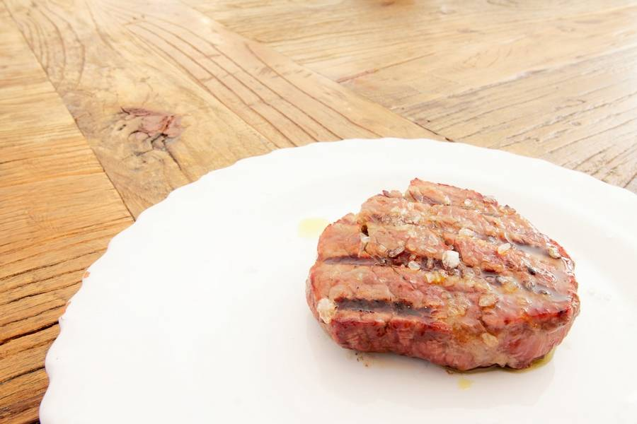 Medaglione di carne Osteria Botteghe Antiche Putignano