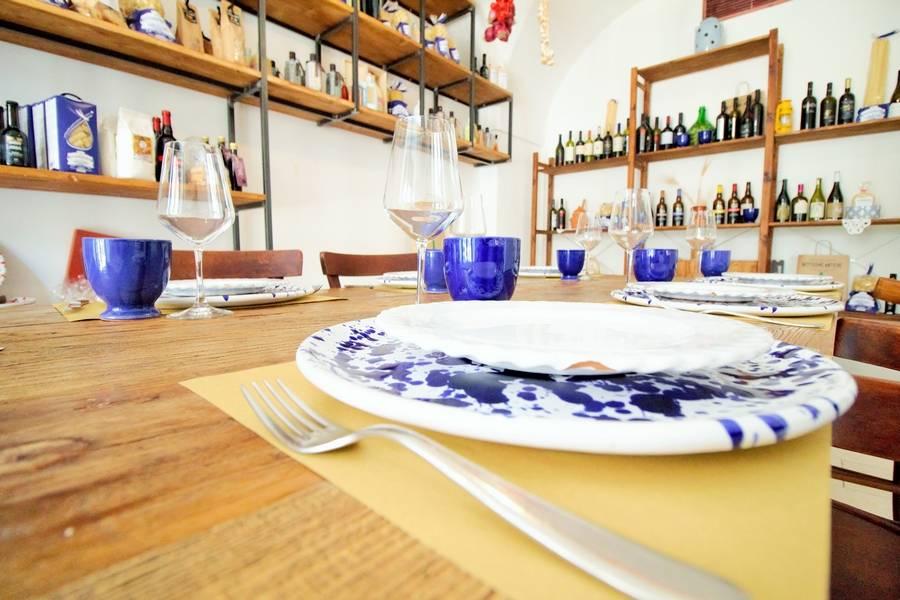 Dettaglio piatti Osteria Botteghe Antiche Putignano