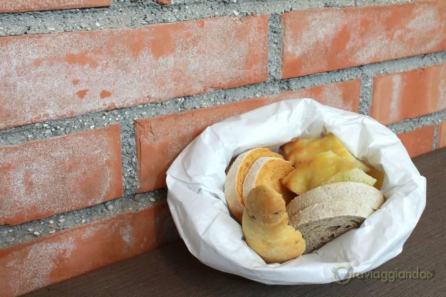 Sacchetto di pane Ristorante D'Istinto Senigallia
