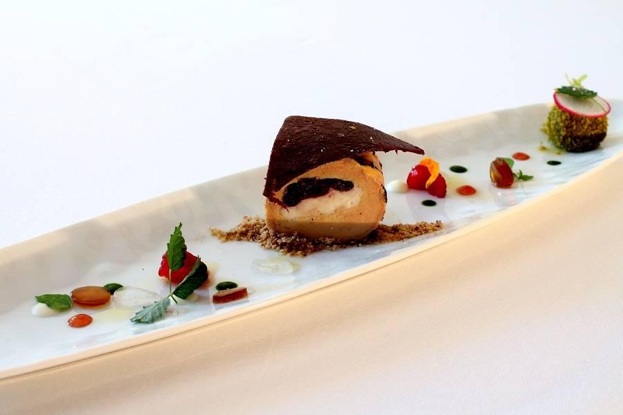 Piatto gourmet Ristorante Andreina Loreto