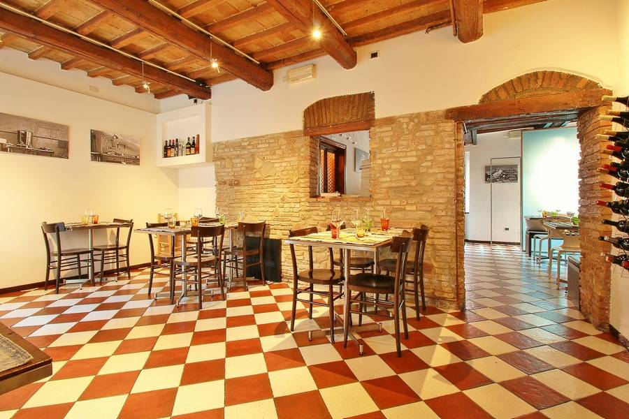 Sala da pranzo Ristorante Il Cuciniere Fano