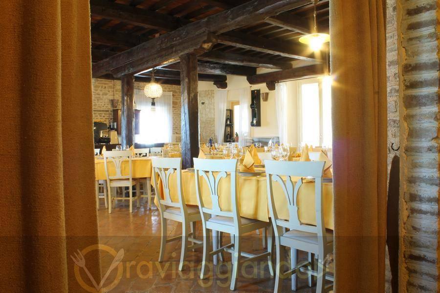 Sala da pranzo Ristorante Isola Belgatto Fano