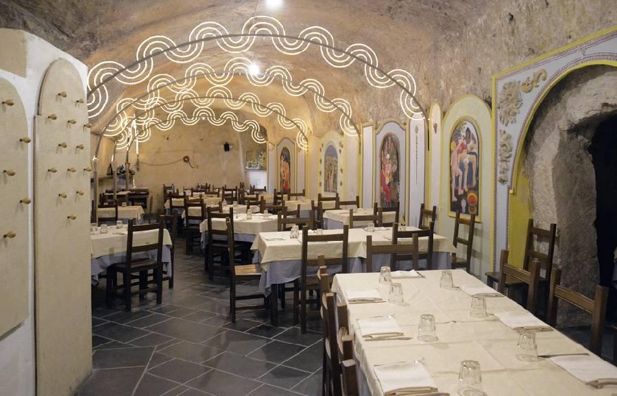 La cantina della bruna matera ristoranti tipici for Planimetrie della cantina
