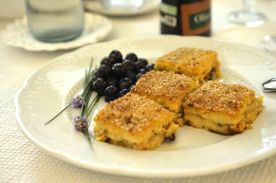 Piatto tipico Masseria Il Frantoio Ostuni
