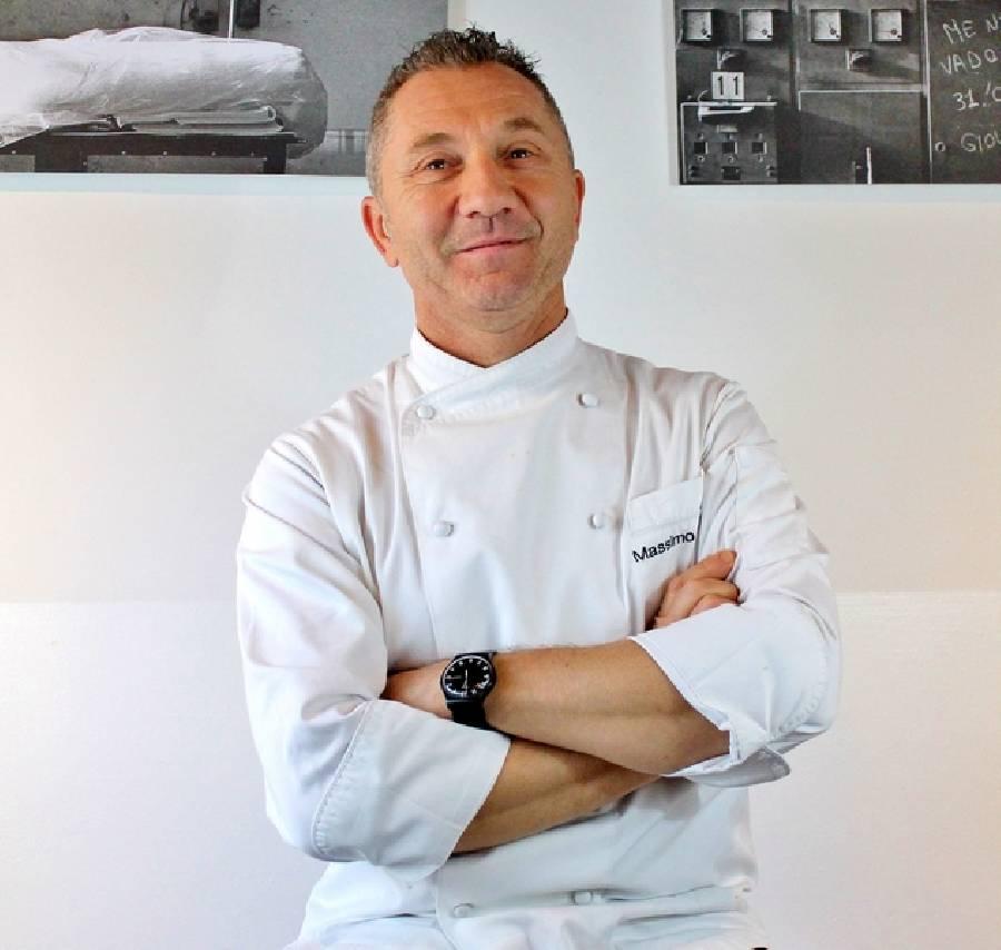 Massimo Dionigi lo chef Ristorante Il Cuciniere Fano