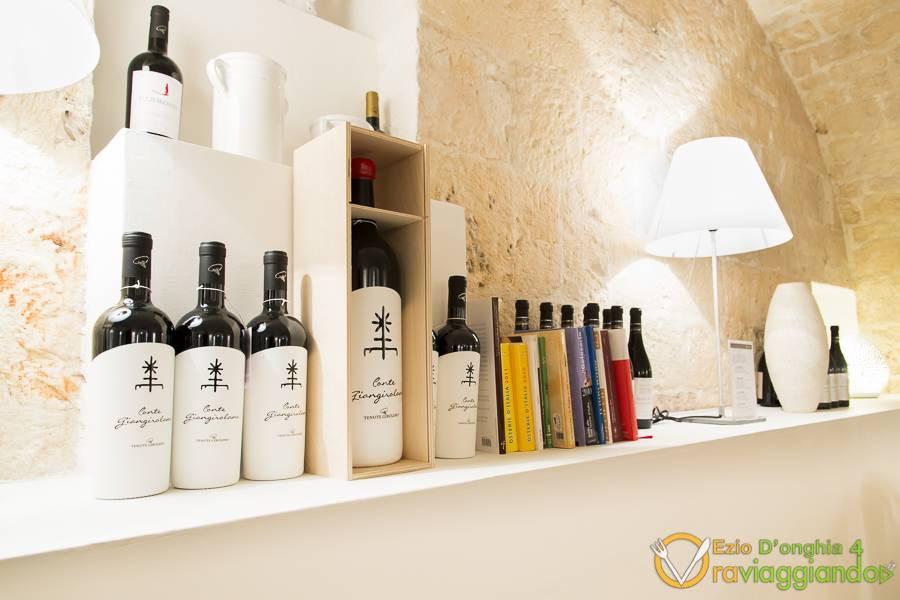 Vino Conte Gingirolamo Bina ristorante di Puglia Locorotondo Bari