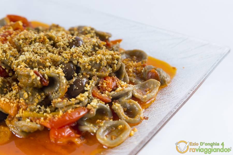Orecchiette pomodoro e olive Ristorante L'Olmo Bello Alberobello Bari