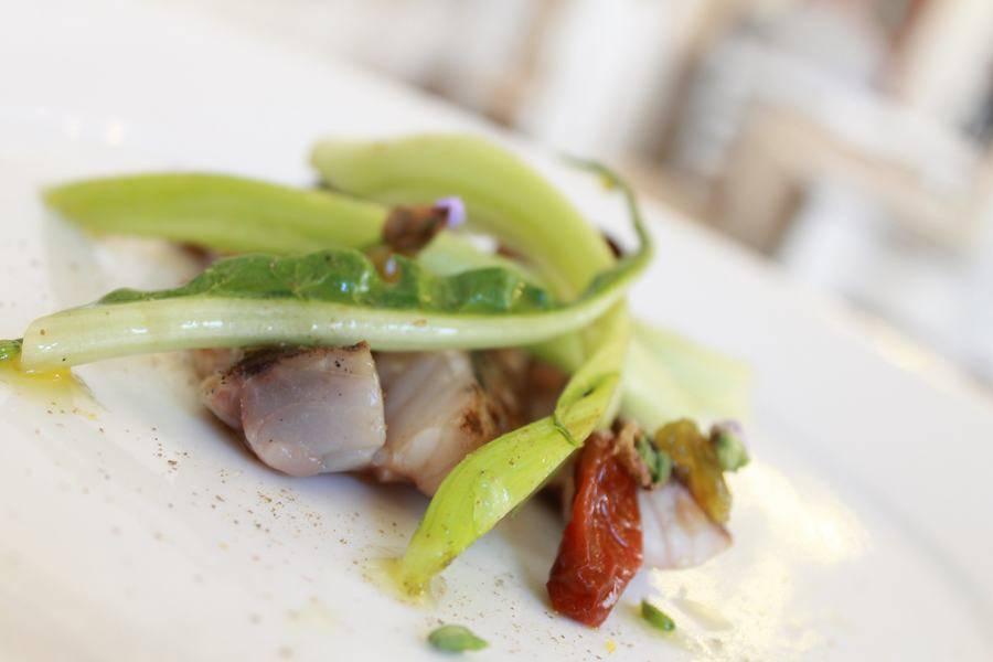 Secondo di pesce gourmet Osteria Frangipane Trani