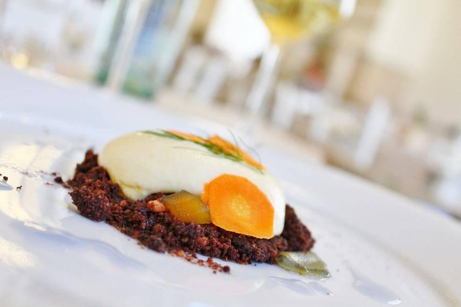 Piatto gourmet Osteria Frangipane Trani