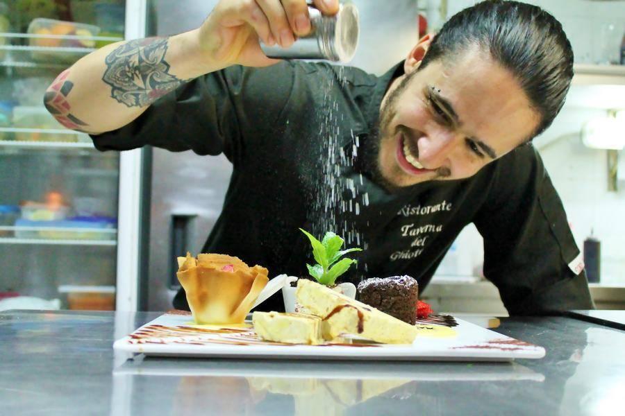 Tris di dolci Ristorante Taverna del Ghiottone Fano