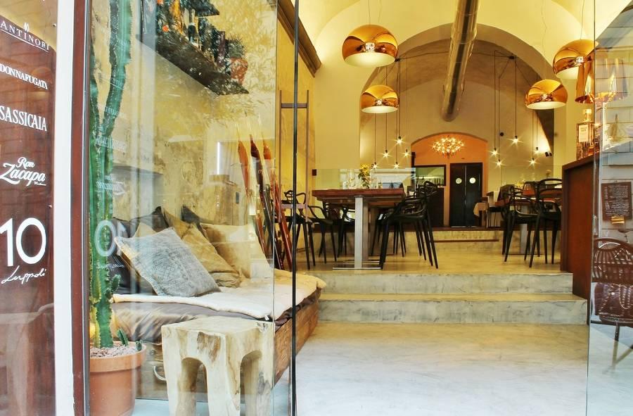 Ingresso Sottosale Hostaria Italiana Arezzo