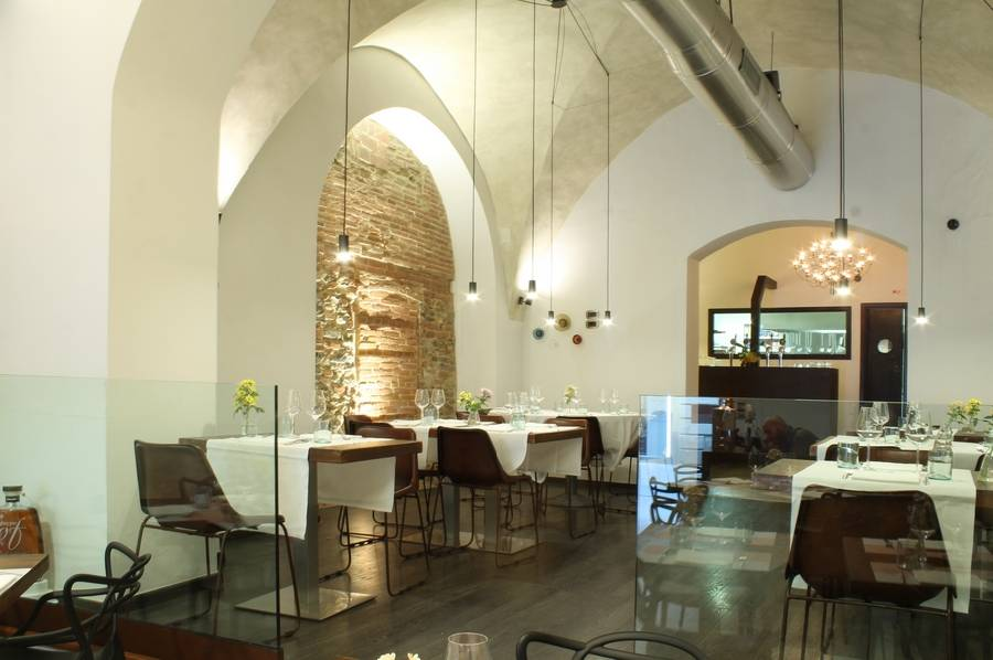 Tavoli per due Sottosale Hostaria Italiana Arezzo