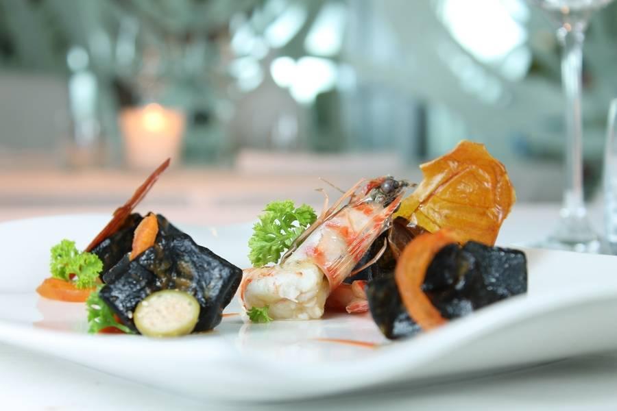 Piatto gourmet Ristorante I Fame Rimini