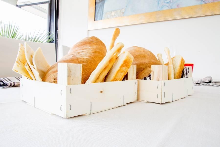 Cassette di pane Ristorante Zi Rosa Riccione