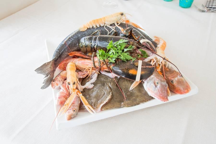 Pesce fresco Ristorante Zi Rosa Riccione