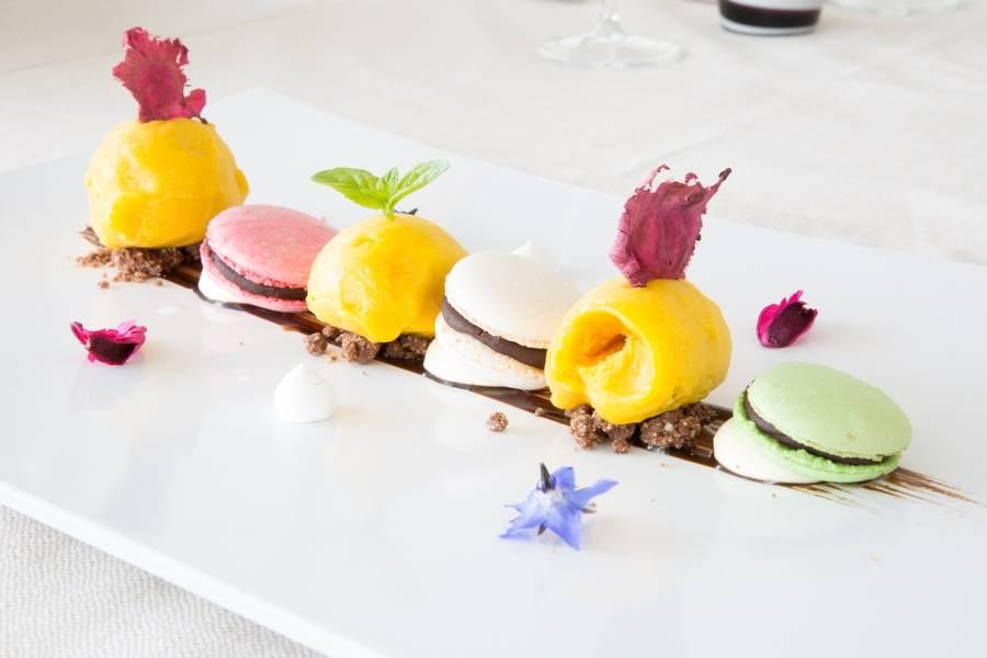 Macaron  Ristorante Zi Rosa Riccione